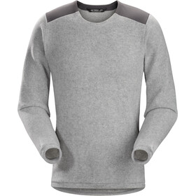Arc'teryx Donavan Suéter de Cuello Redondo Hombre, light grey heather
